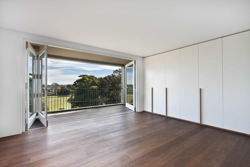 Wooden Slide & Fold Door
