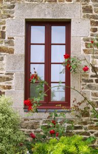 Wooden French Window